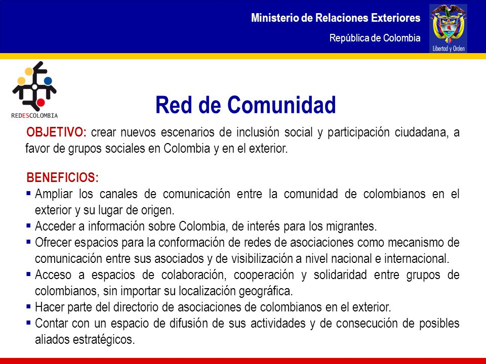 ministerio de relaciones exteriores rep blica de colombia ppt descargar