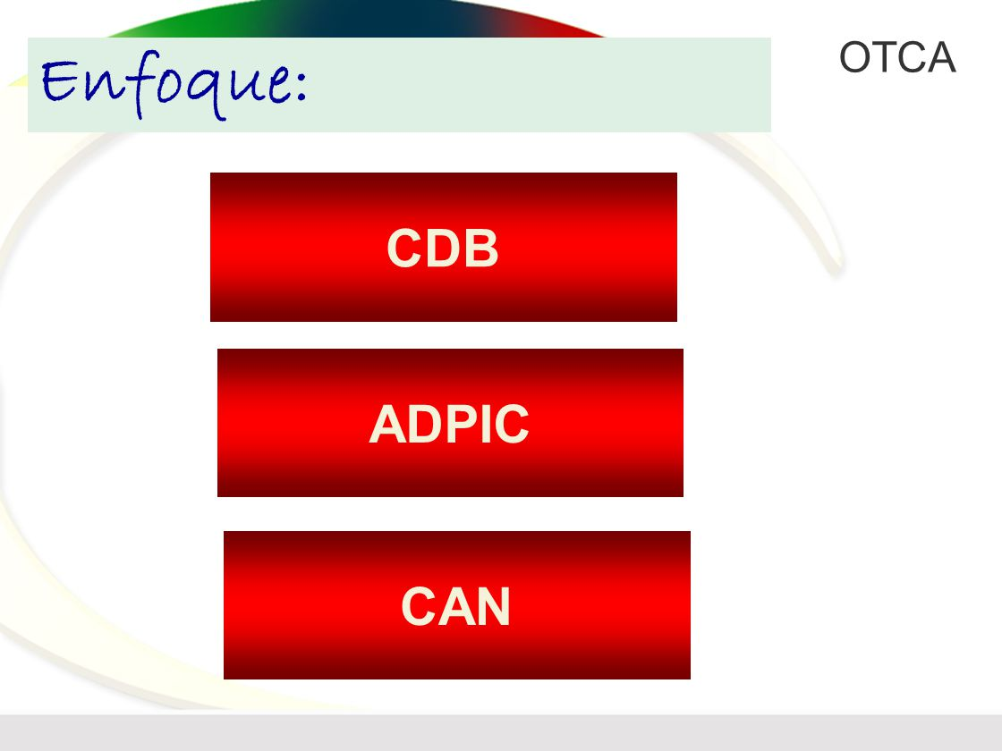 Enfoque: CDB ADPIC CAN