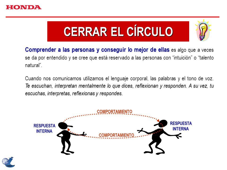 CERRAR EL CÍRCULO
