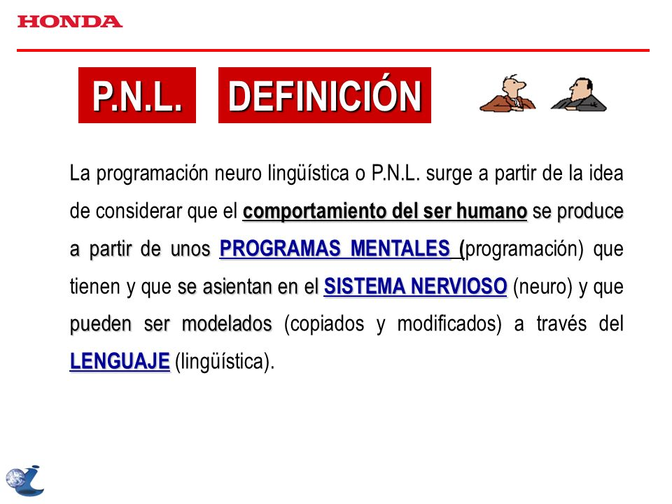 P.N.L. DEFINICIÓN.