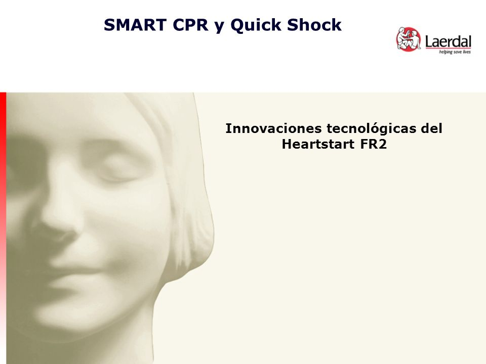 Innovaciones tecnológicas del Heartstart FR2