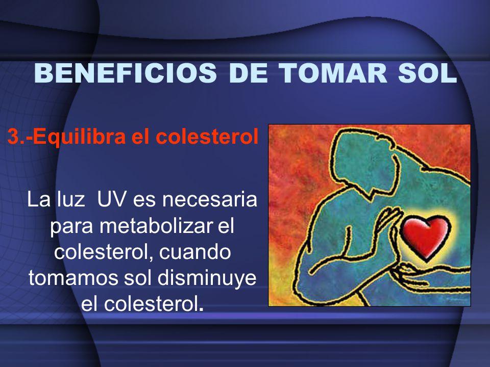 BENEFICIOS DE TOMAR SOL