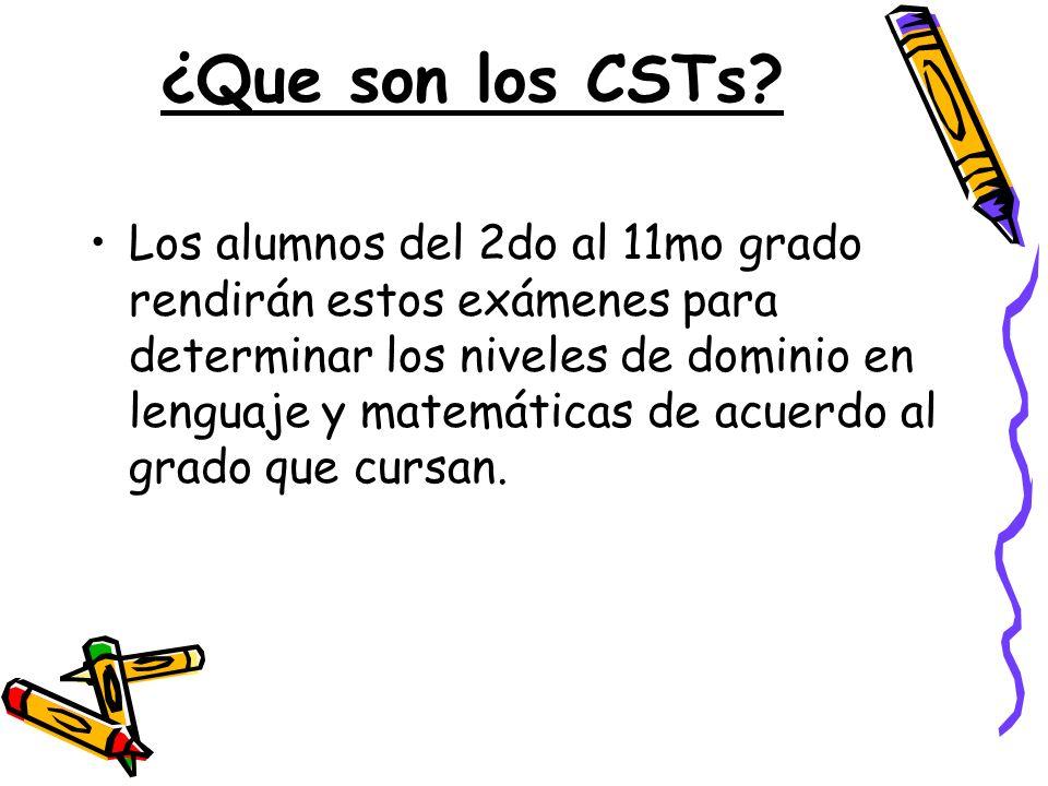 ¿Que son los CSTs