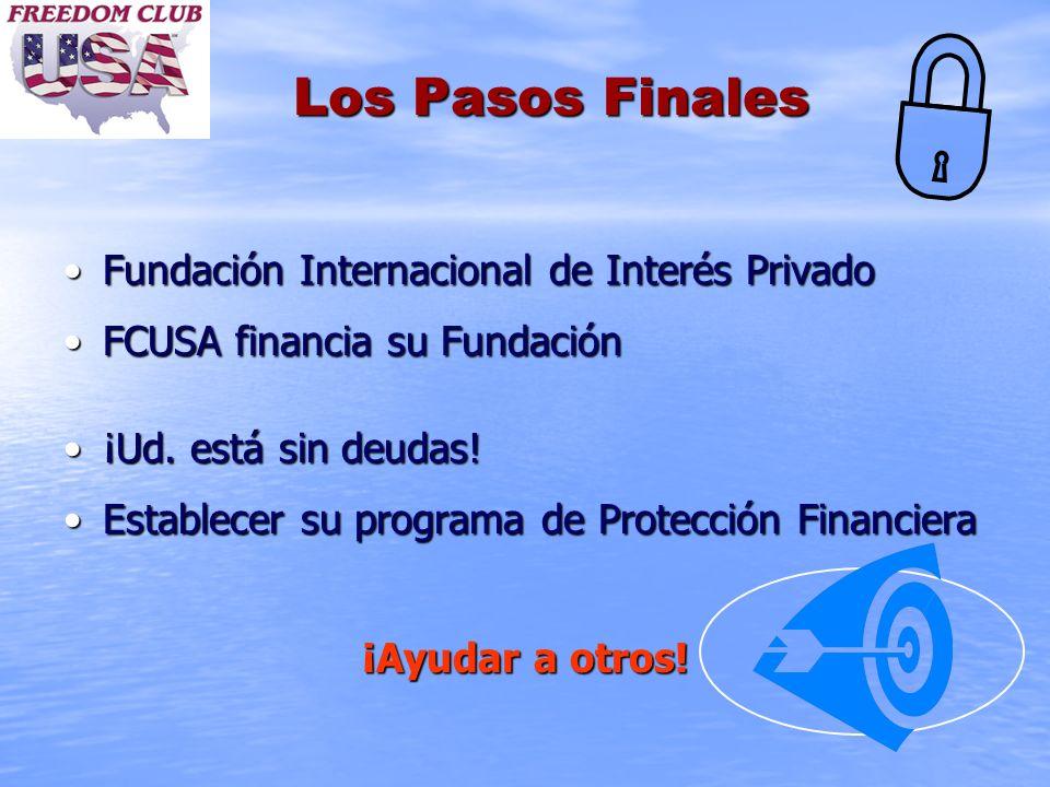 Los Pasos Finales Fundación Internacional de Interés Privado