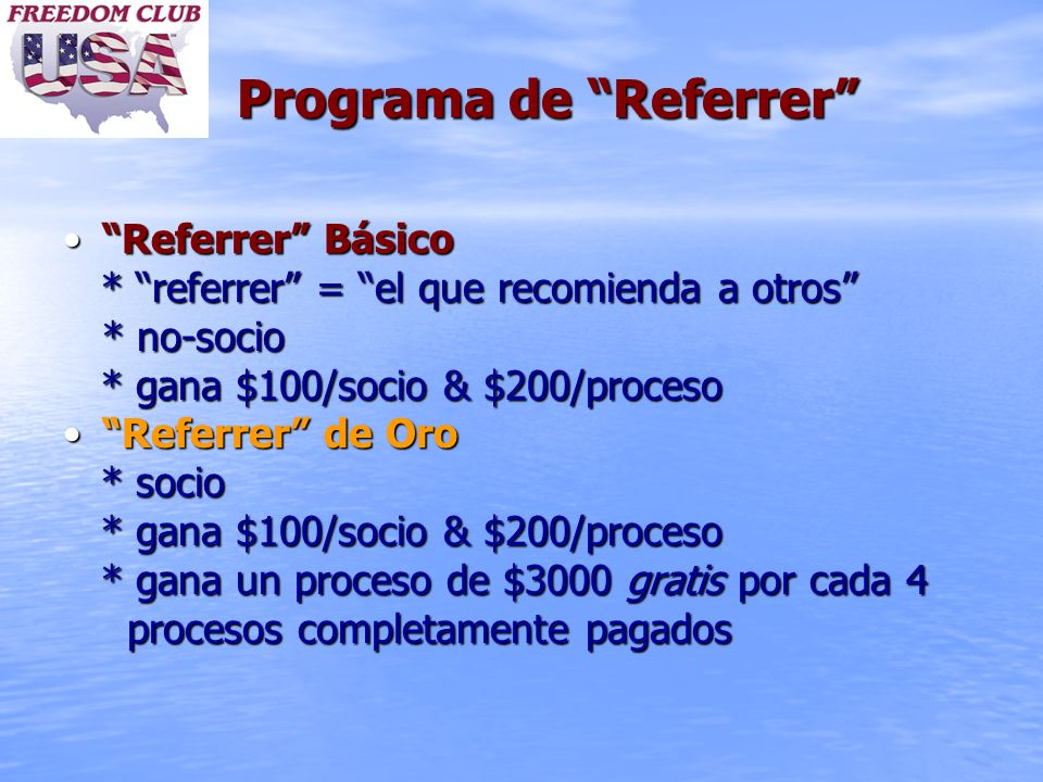 Programa de Referrer