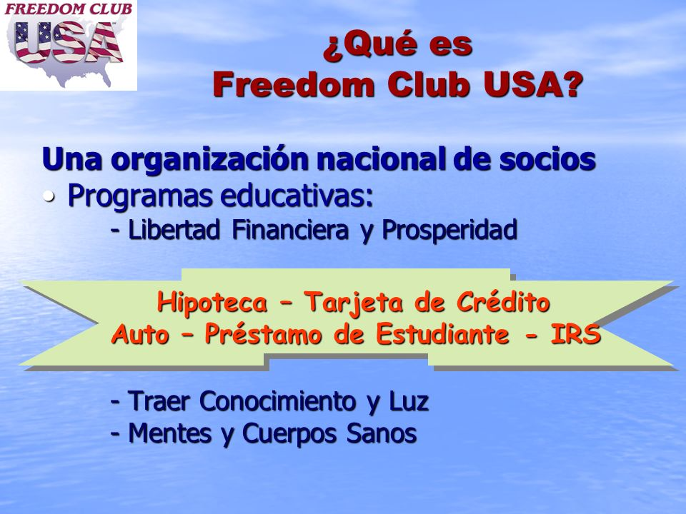 ¿Qué es Freedom Club USA