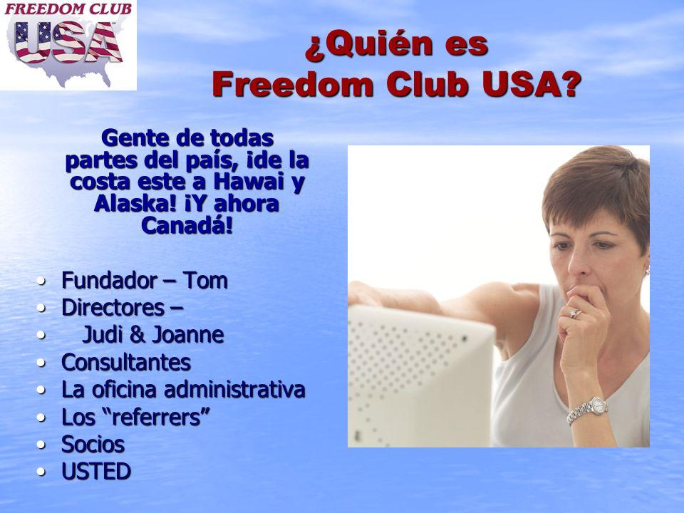 ¿Quién es Freedom Club USA