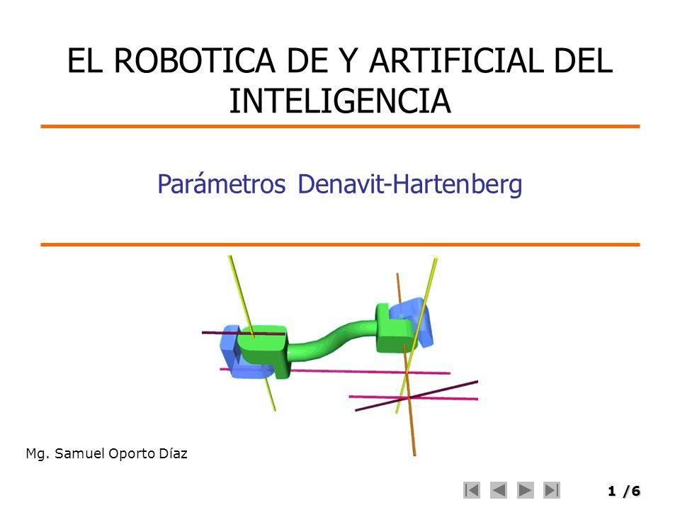 EL ROBOTICA DE Y ARTIFICIAL DEL INTELIGENCIA