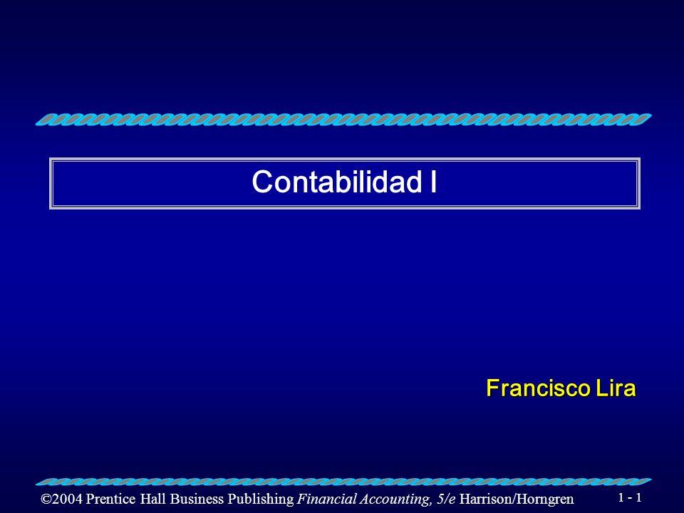 Contabilidad I Francisco Lira