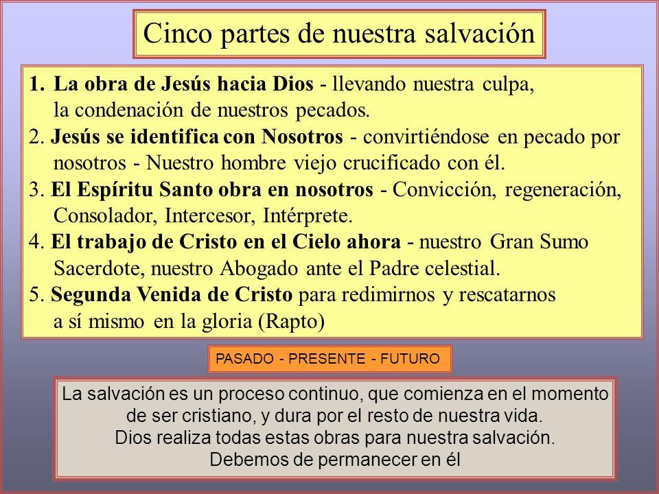 Cinco partes de nuestra salvación