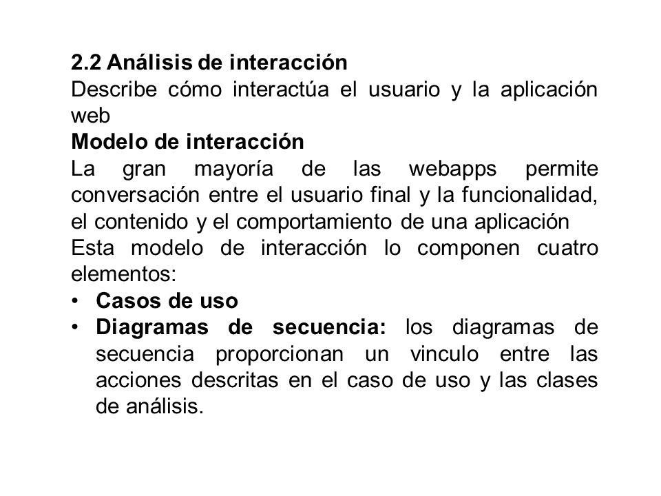 2.2 Análisis de interacción