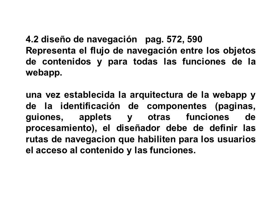 4.2 diseño de navegación pag. 572, 590