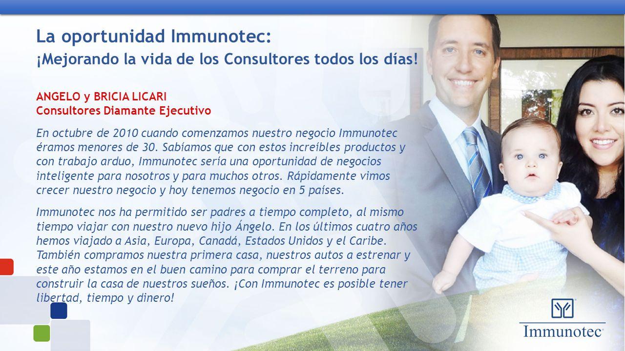 Immunotec mejorando la vida de las personas todos los - Casa asia empleo ...