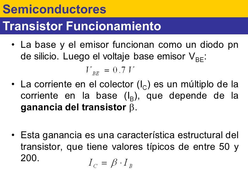 Transistor Funcionamiento