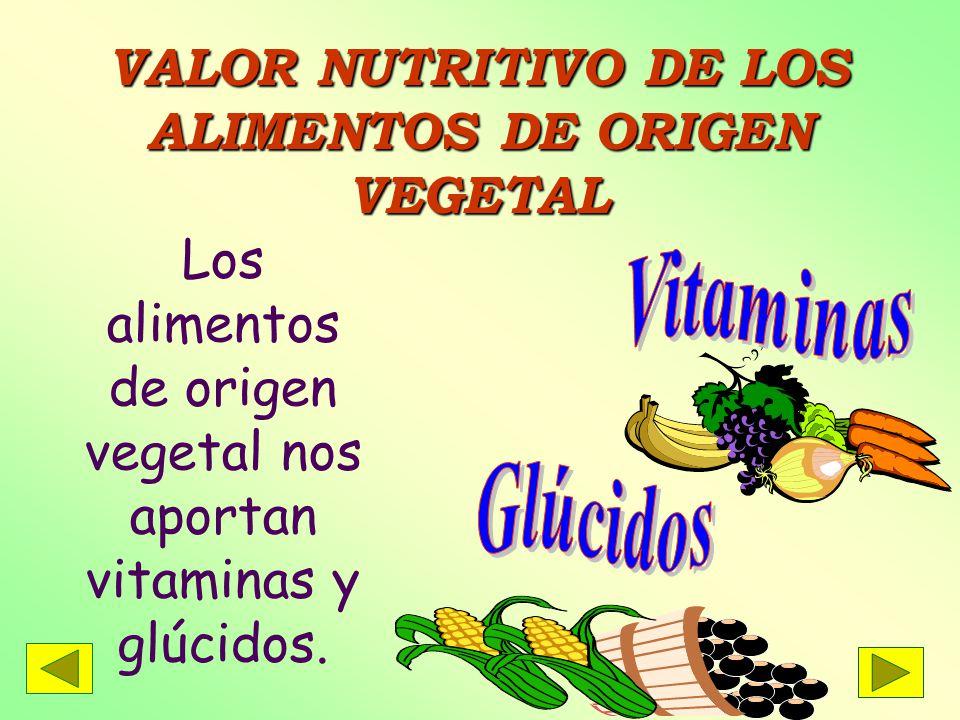 Valor nutritivo de los alimentos universidad de carabobo departamento de matem 193 tica unidad - Valor nutricional de los alimentos tabla ...