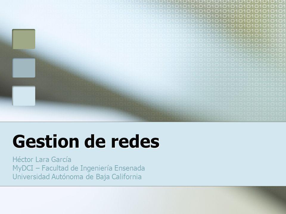 Gestion de redes Héctor Lara García