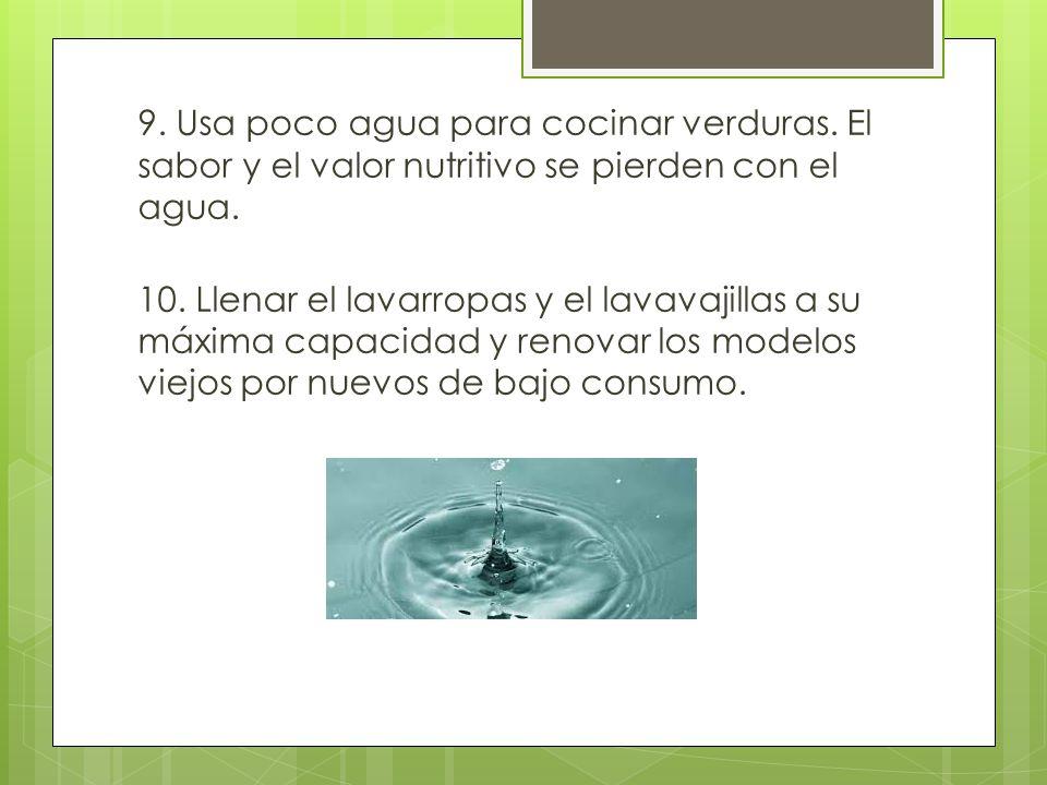 Cuidar el agua es responsabilidad de todos ppt descargar for Cocinar para 9