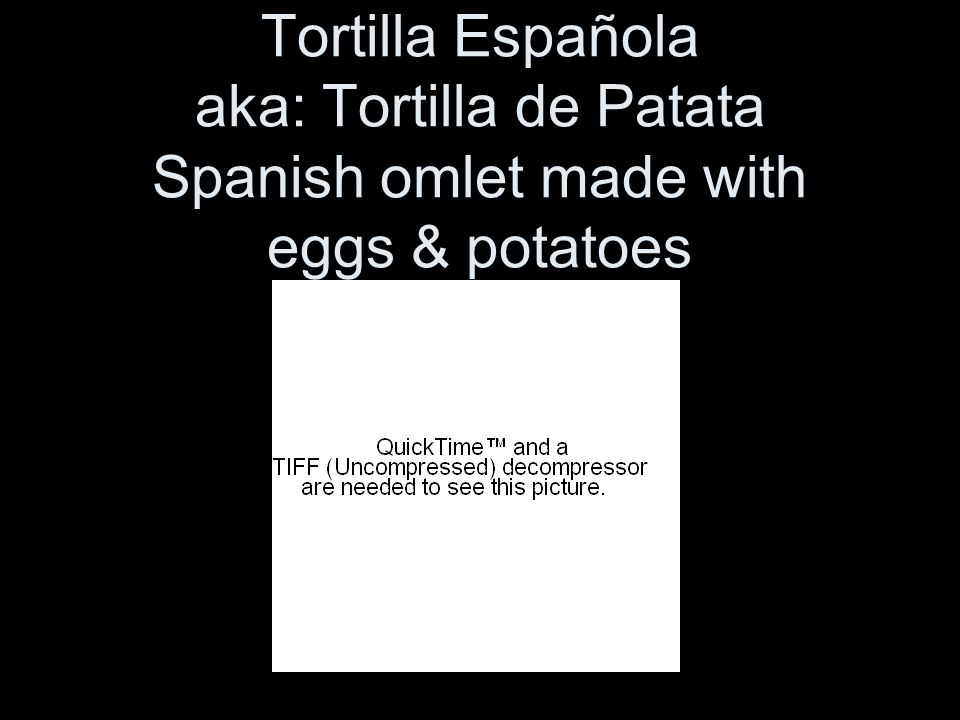 Tortilla Española aka: Tortilla de Patata Spanish omlet made with eggs & potatoes