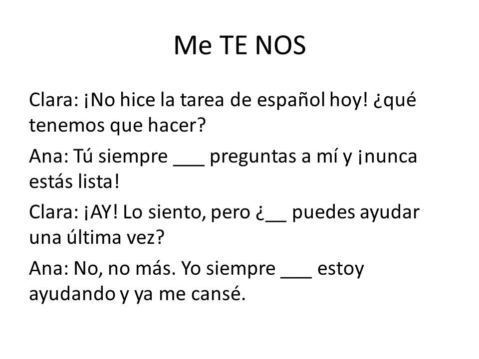 Me TE NOS