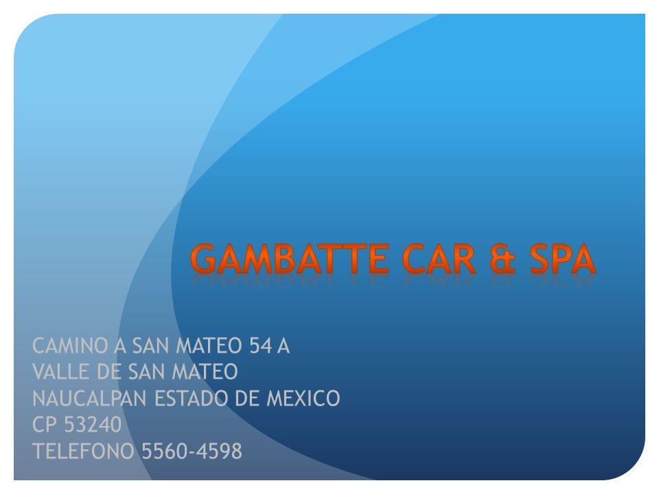 Gambatte Car & Spa CAMINO A SAN MATEO 54 A VALLE DE SAN MATEO
