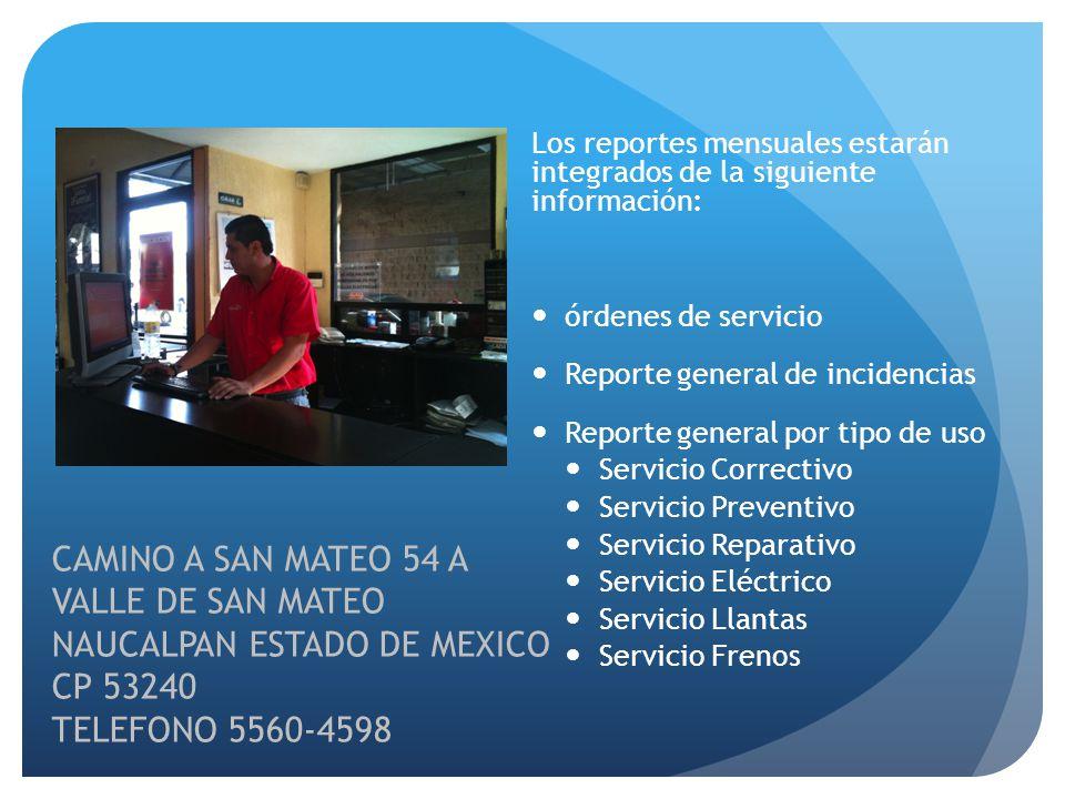 NAUCALPAN ESTADO DE MEXICO CP 53240 TELEFONO 5560-4598