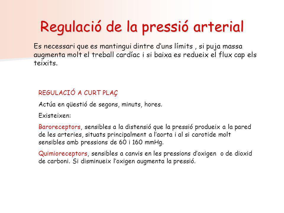 Regulació de la pressió arterial