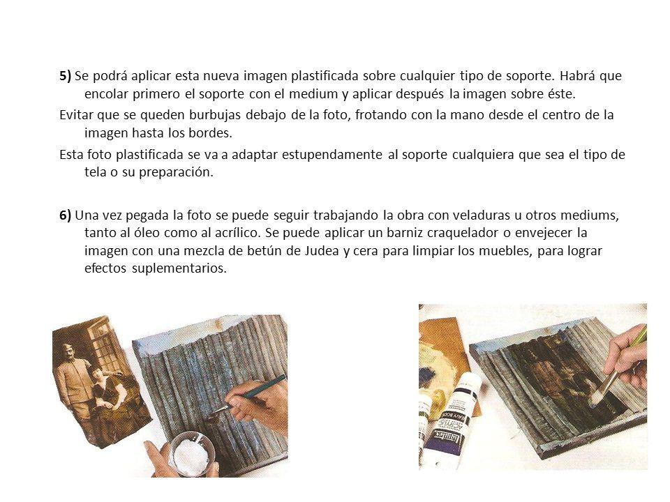 Introducci n la t cnica del transfer o transferencia de for Aplicar cera de concreto sobre baldosas