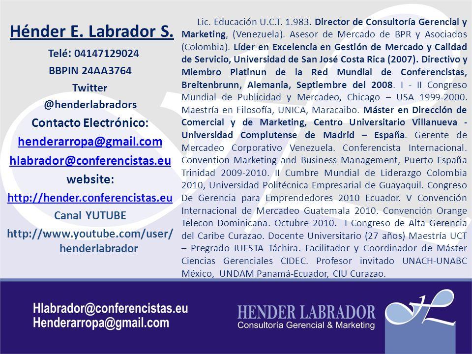Contacto Electrónico: