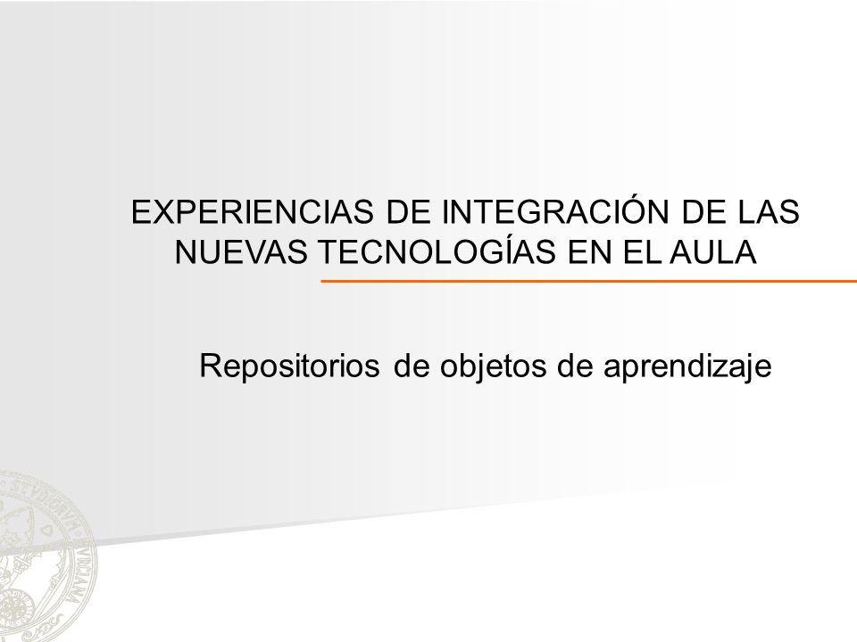 EXPERIENCIAS DE INTEGRACIÓN DE LAS NUEVAS TECNOLOGÍAS EN EL AULA