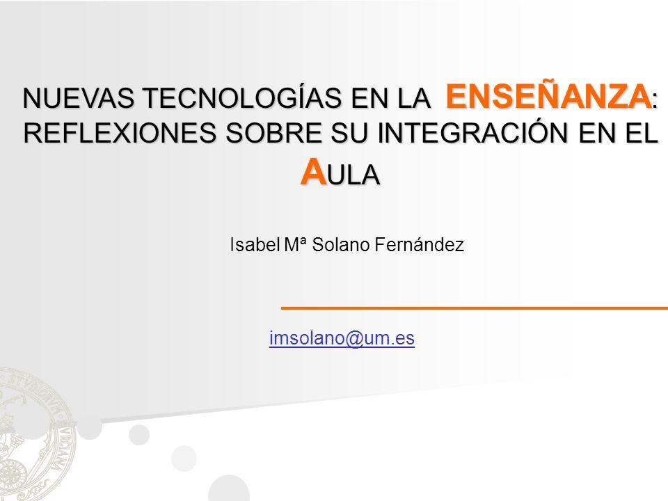 Isabel Mª Solano Fernández