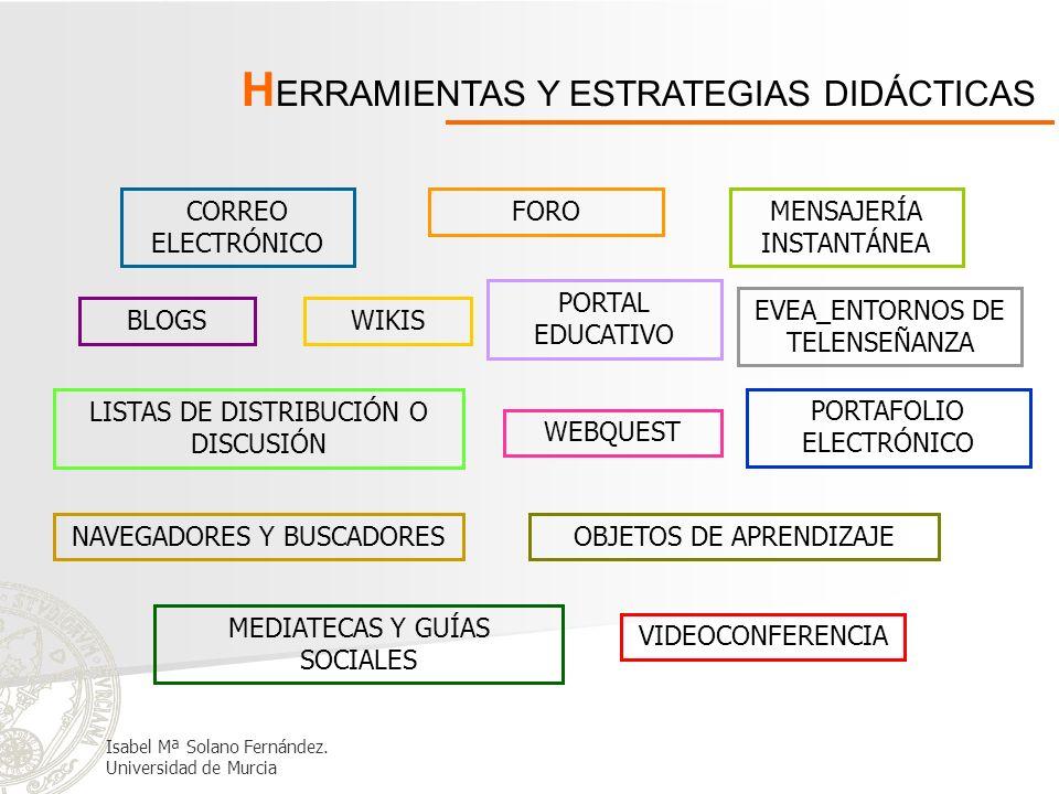 HERRAMIENTAS Y ESTRATEGIAS DIDÁCTICAS