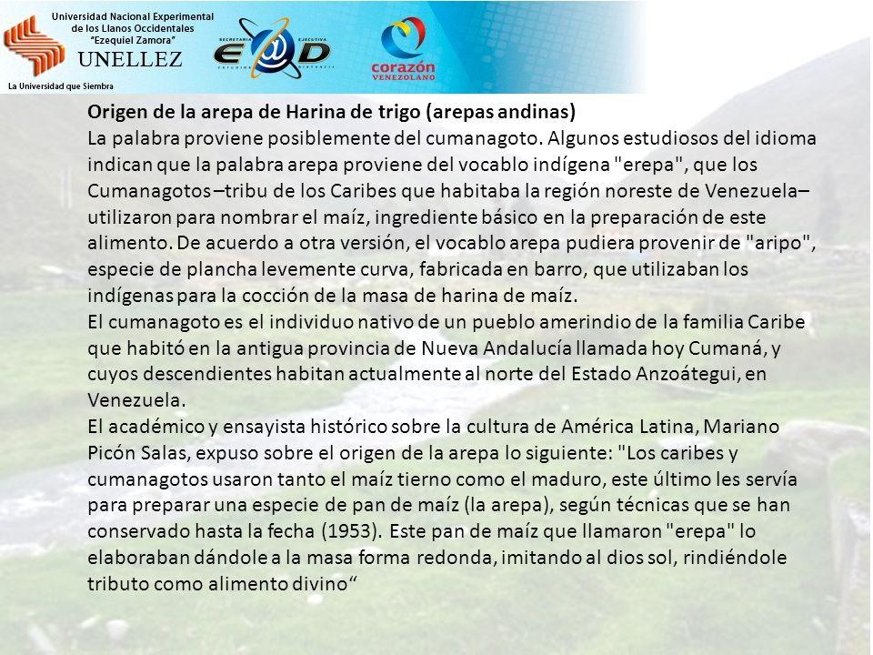 Elaboracion de arepas andinas ppt descargar for De que lengua proviene la palabra jardin