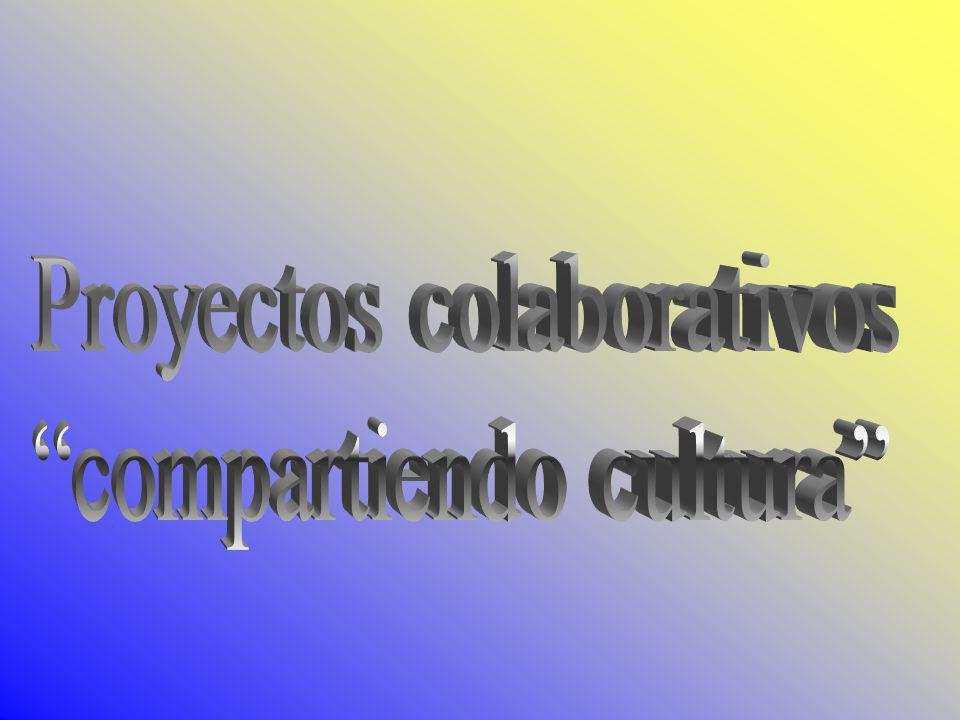 Proyectos colaborativos compartiendo cultura