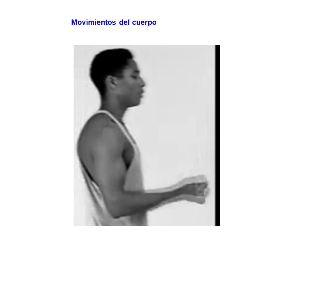 Movimientos del cuerpo