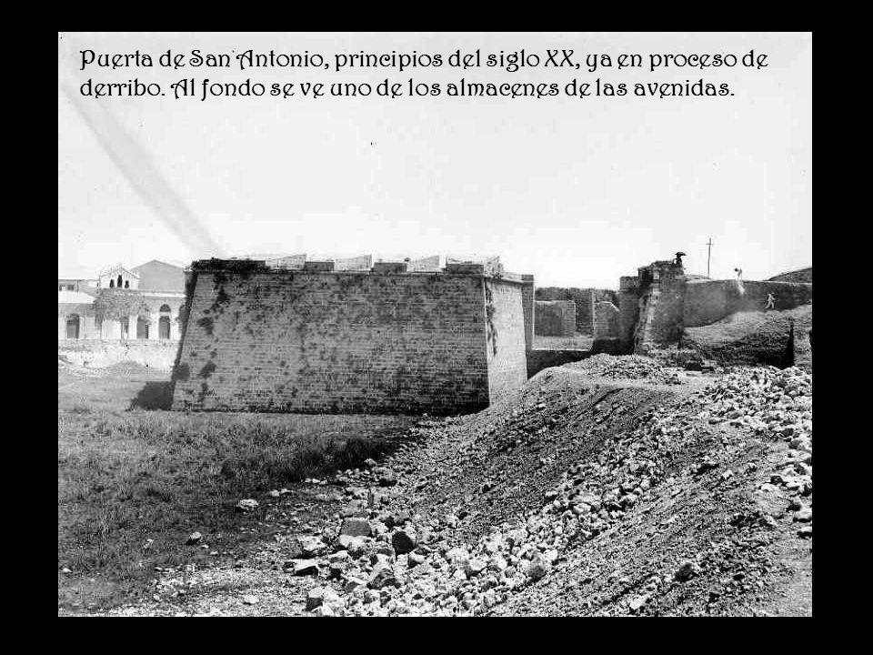 Palma antigua murallas ppt descargar for Puertas antiguas de derribo