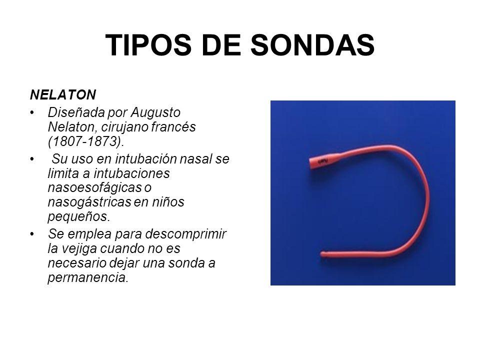 TIPOS DE SONDAS NELATON