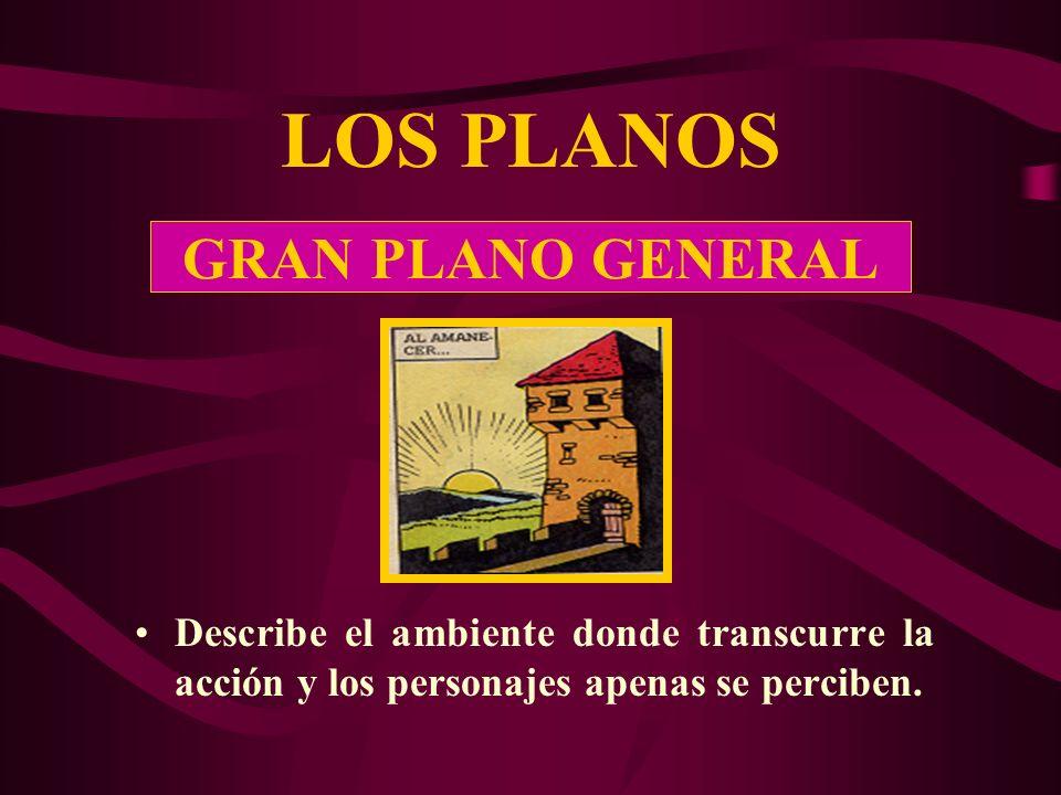 LOS PLANOS GRAN PLANO GENERAL