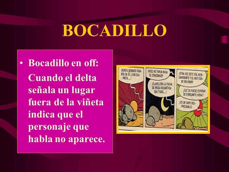 BOCADILLO Bocadillo en off: