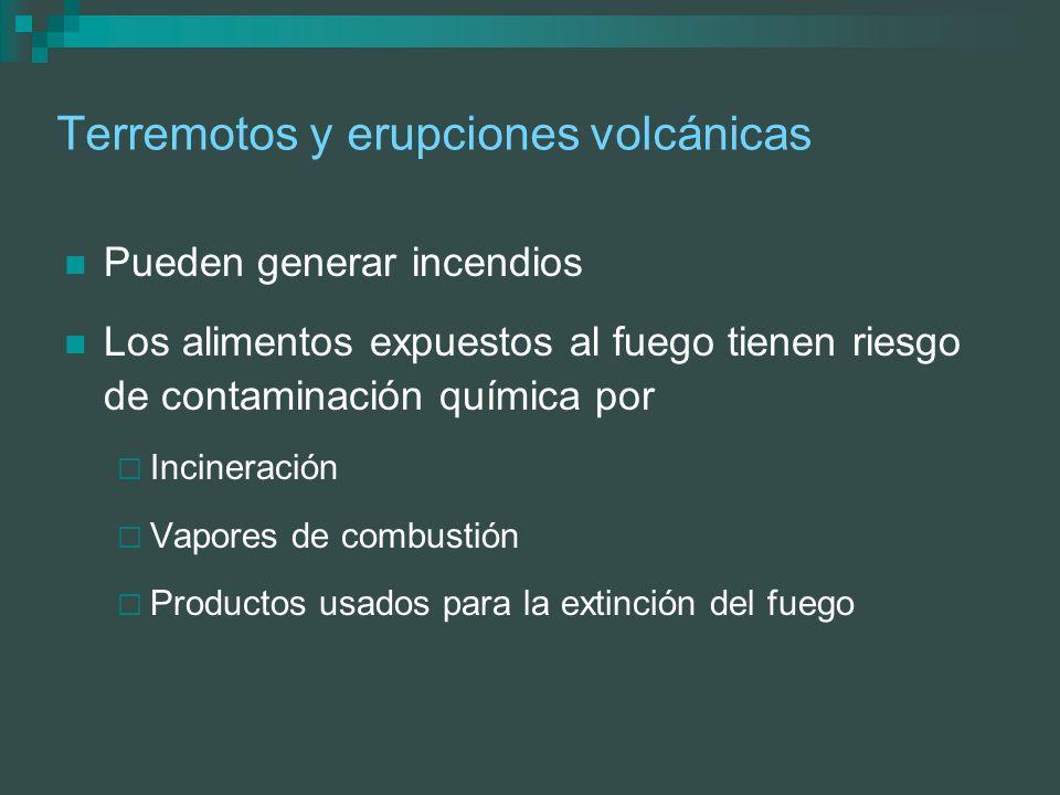 Terremotos y erupciones volcánicas