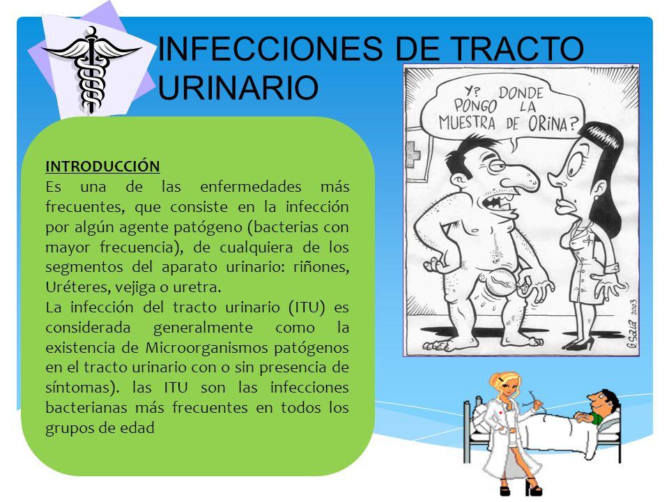 INFECCIONES DE TRACTO URINARIO