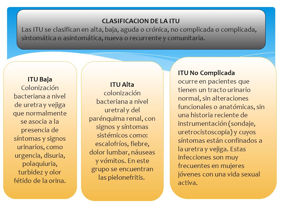 CLASIFICACION DE LA ITU