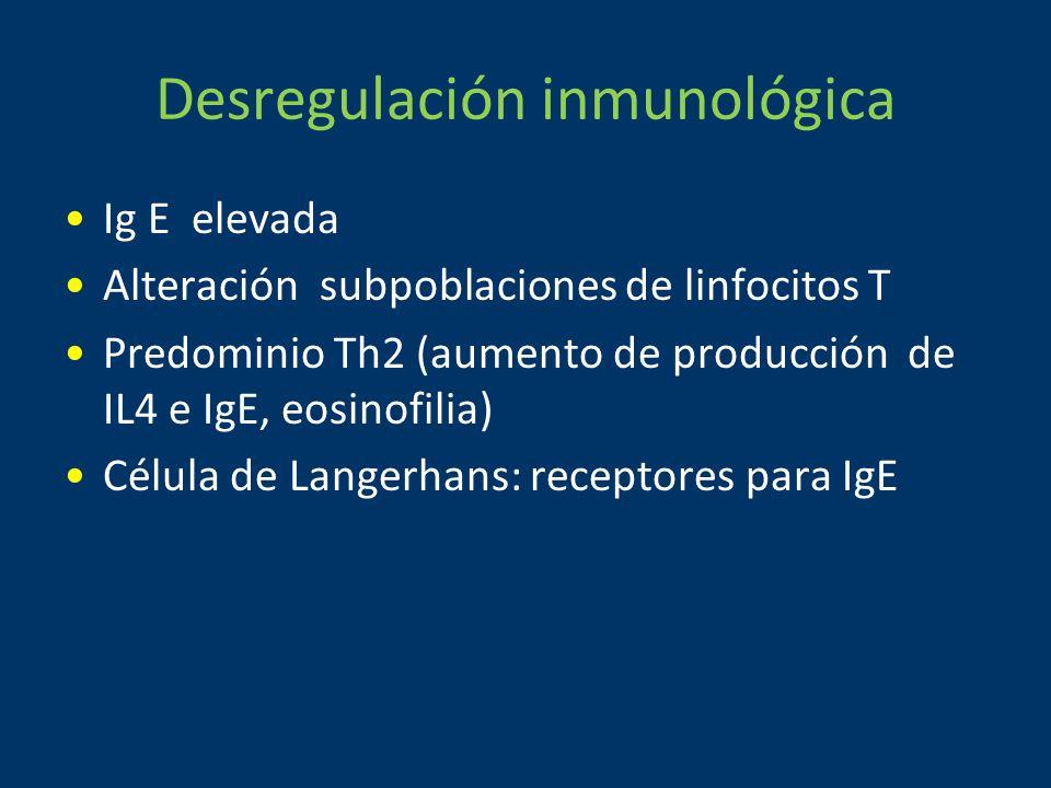 Desregulación inmunológica