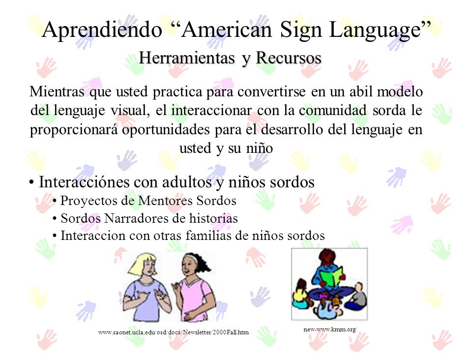 Aprendiendo American Sign Language