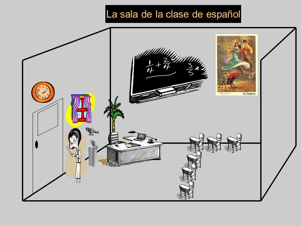 La sala de la clase de español
