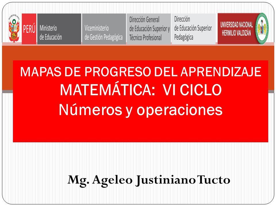 Mg. Ageleo Justiniano Tucto