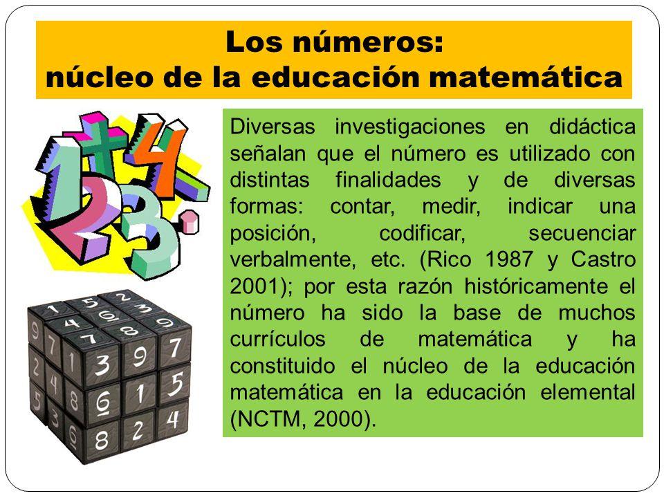núcleo de la educación matemática