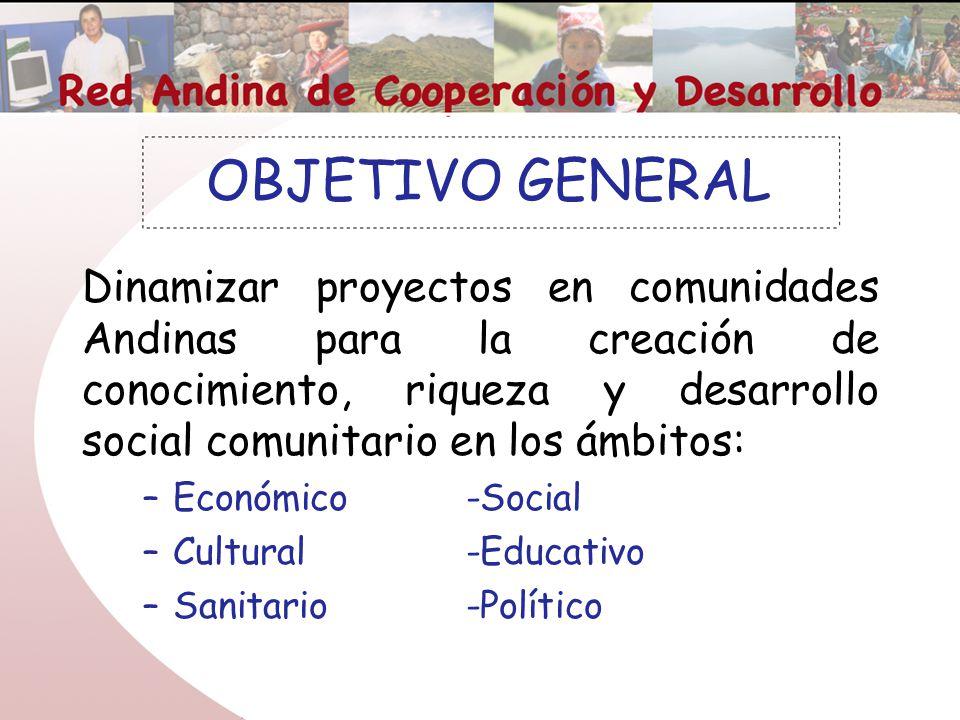 Red andina de cooperaci n y desarrollo ppt descargar for Proyecto social comedor comunitario