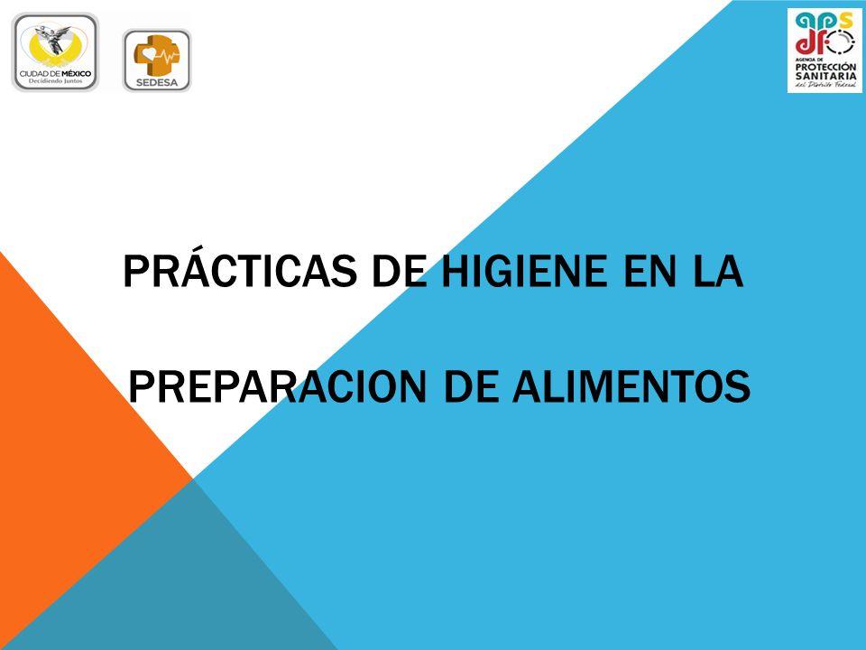 Pr cticas de higiene en la preparacion de alimentos ppt for Manual de buenas practicas de higiene y manipulacion de alimentos
