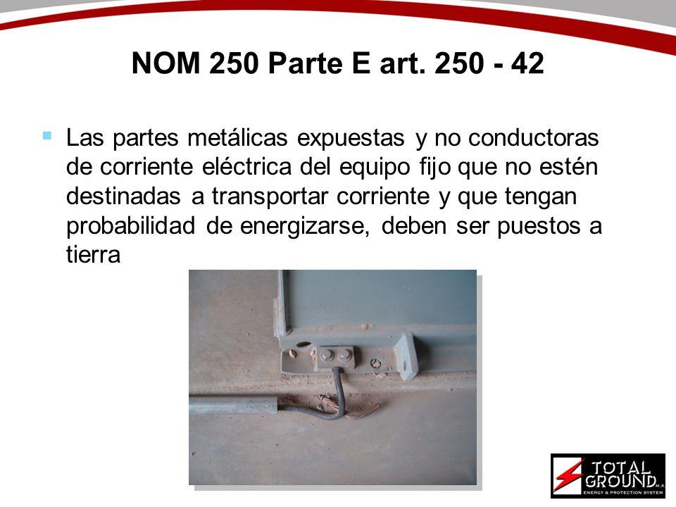 NOM 250 Parte E art. 250 - 42