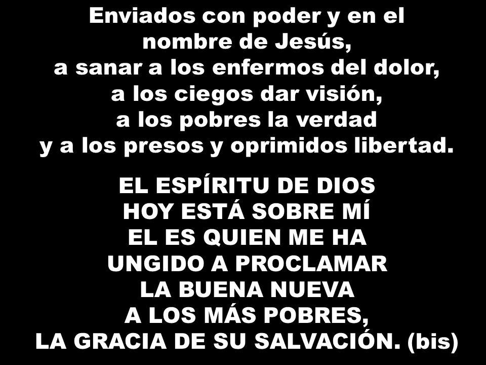 LA GRACIA DE SU SALVACIÓN. (bis)
